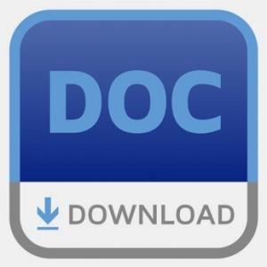 Eigenbeleg Vorlage für Word als DOC zum Download.
